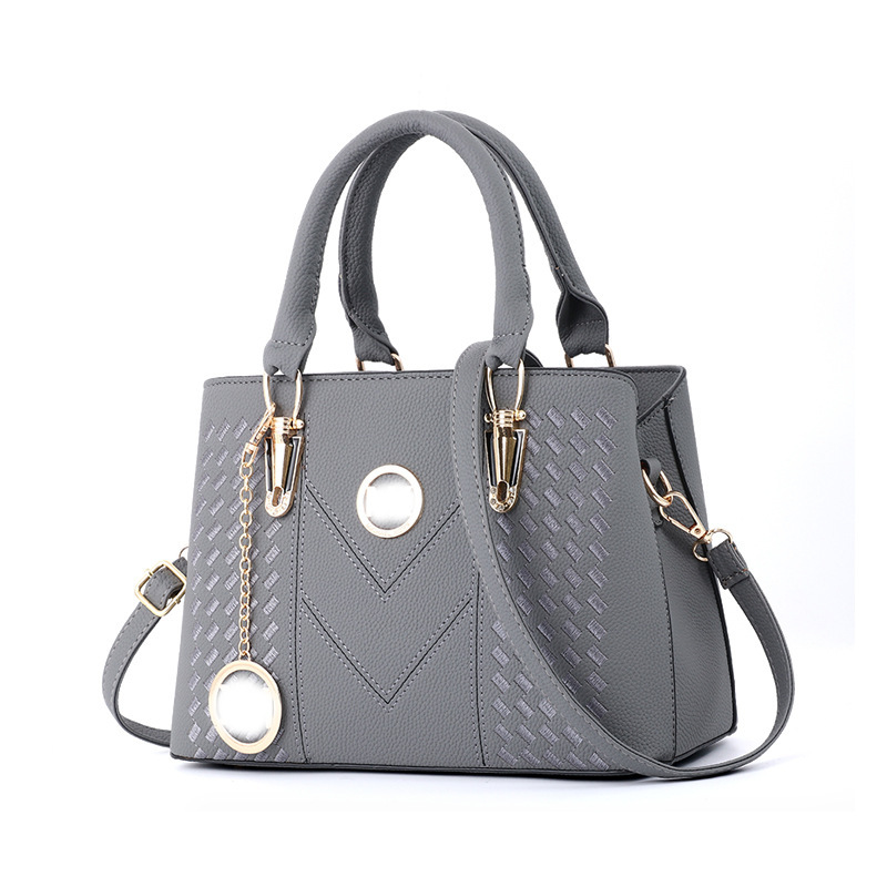 HENGSHENG 2019 Summer Trendy New Bags  European And American Bags Of Fashionable Women's Bags  Slant Shoulder Handbag ZF9585(China)