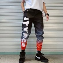 New Fashion Mens Cool Pants Pocket Loose Men HipHop Multi Color Joggers Trousers Streetwear