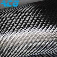 12K 400GSM Plain Weave 1m 1m Size Real Carbon Fiber Fabrics Not PVC Sticker