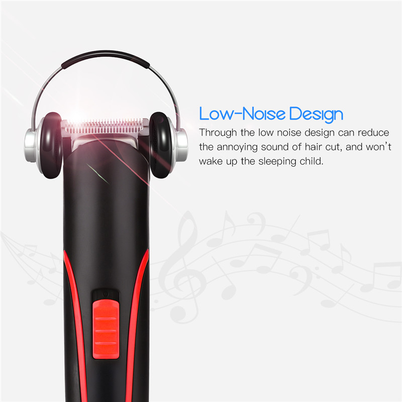 Portable Rechargeable Hair Clipper Electric Cordless Mini Hair Trimmer