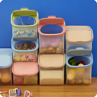 Large Sealed Cans Cereal Grains Cans Snacks Candy Storage Jars Storage Boxes Food Storage Rack