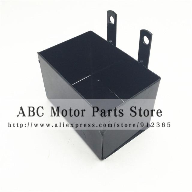 Caja de la batería del marco de CRF50 soporte de la caja de la bicicleta del pit de la suciedad de la motocicleta de la carretera Apolo 110 motocross chino