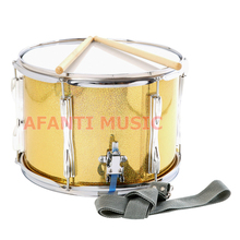 13 inch stainless steel Afanti Music High Snare Drum (AGS-006)