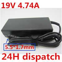HSW na laptopa adapter AC moc kabel zasilający dla Acer Aspire 5750 5750G 5755 5755G 6920 6920G 6930G Bateria do notebooka ładowarka 19V4. 74A
