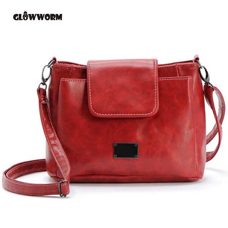 women leather handbags clutch bolsa feminina cheap bags messenger bag modis tassen voor vrouwen 2018 small satchel shoulder in Shoulder Bags from Luggage Bags