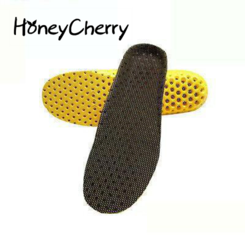 Summer Sports Shoe Pad, Honeycomb Mesh Fabric, Breathable Shock Absorber Insole, University Training Pad