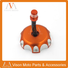 Billet Gas Fuel Tank Cap Cover For KTM Mini SX EXC EGS MXC LC4 50 85 105 125 200 250 300 350 400 450 520 525 Motorcycle Enduro