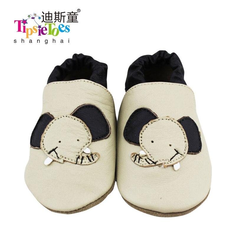 b77e398ba Frete grátis Elefante Macio Bebê Crianças Berço Criança Sapatos Mocassins  de couro Genuíno Primeiro Walker Novo 2017 Outono Primavera Moda