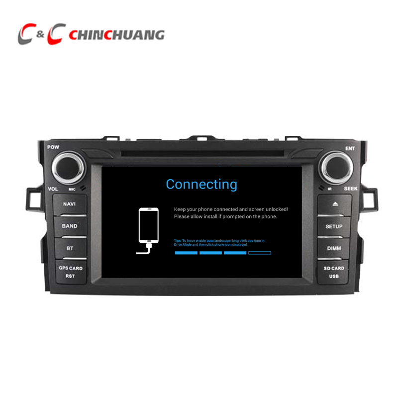 Updated ! 4GB RAM 32GB ROM Octa-Core Android 8.0 Car DVD Player GPS for Toyota Auris 2007-2011 Corolla 2012 with Radio Wifi DVR