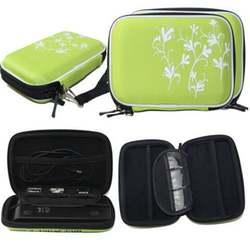 Лидер продаж истиранию жесткий диск Портативный диск молния чехол сумка Противоударный царапинам 2,5 ''HDD сумка Зеленый