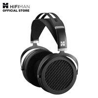 HIFIMAN SUNDARA Over Ear полноразмерные плоские магнитные наушники (черный) с высокой верностью дизайна, легко управлять смартфоном