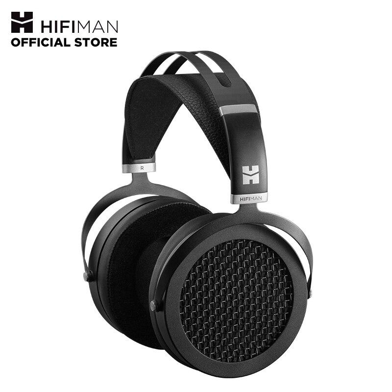 HIFIMAN SUNDARA Over-Ear Fones De Ouvido Full-Size Planar Magnético (Preto) com o Design De Alta Fidelidade, fácil de Dirigir por Telefone Inteligente