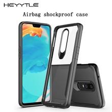 Heyytle étui anti choc pour oneplus 6 6 T 5 5 T housse étui transparent pour oneplus 7 Pro luxe Coque de téléphone Coque en Silicone