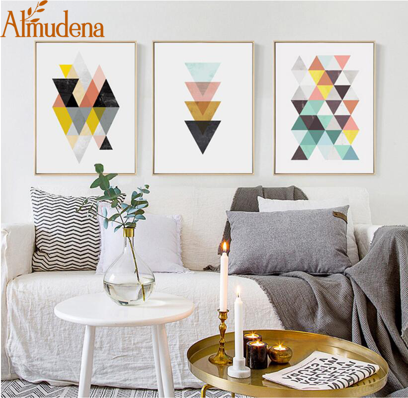 Picture, Canvas, Room, Decoration, Geometric, Painting