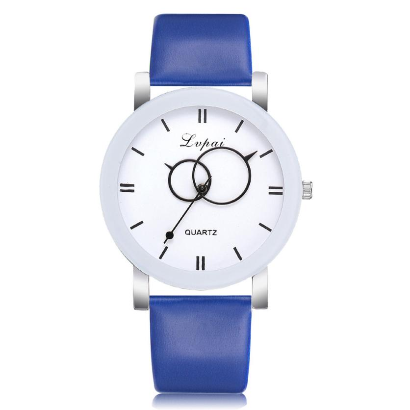 Fashion Women Watch Ladies Wristwatch Luxury High quality Quartz Leather Wrist Watch relojes mujer 2018 montre femme Gift #D 1