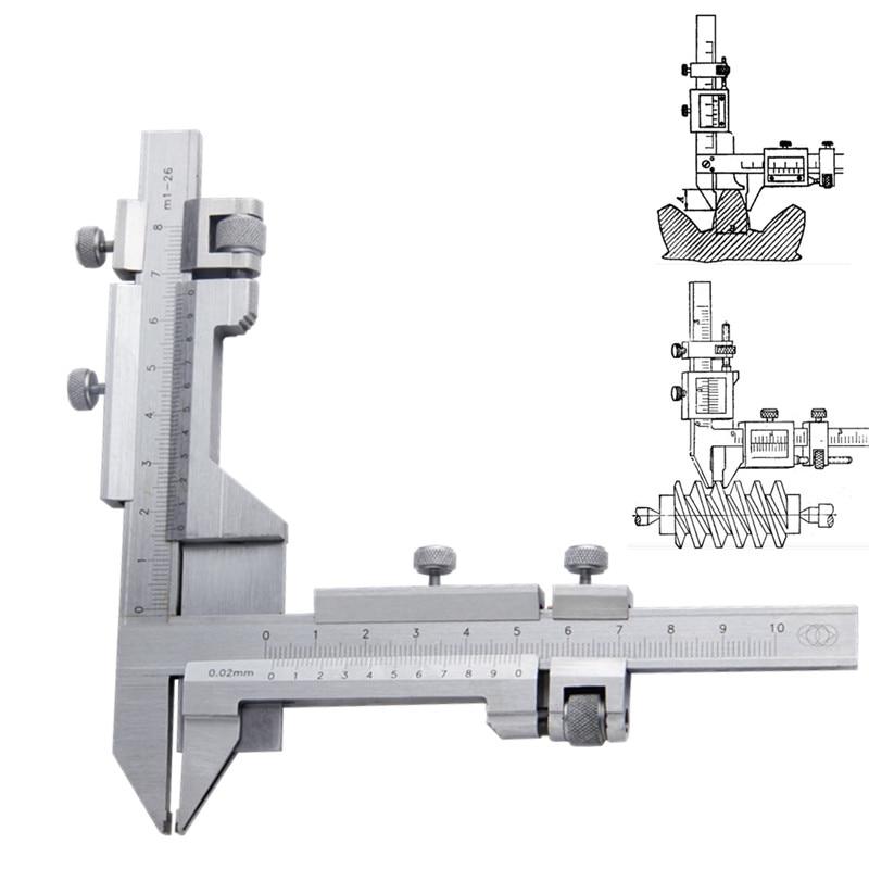 Vernier Caliper M1-26 Gear Gearwheel Thickness Gauge Measuring Tools