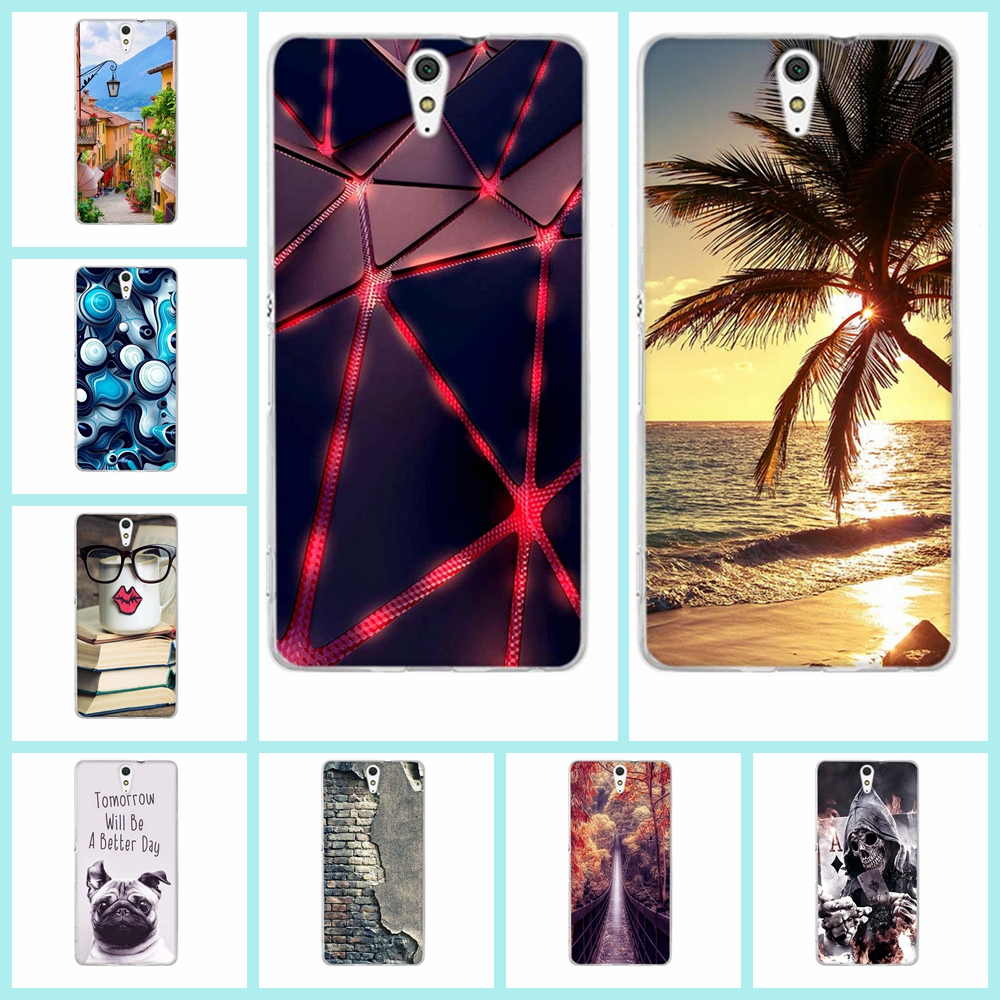 For Sony Xperia C5 Phone Case Painting Soft Silicone Back Cover Case for Sony Xperia C5 Ultra / Dual E5533 Phone Bag Skin Capa