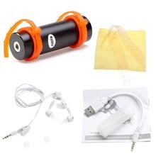 Лидер продаж Встроенный 4 ГБ плавание водонепроницаемый спортивный MP3 плеер Поддержка FM наушников зарядка через USB кабель повязку