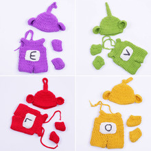 30cm Reborn Baby Dolls Accessories Colors Wool Hand Knit Dolls Clothing Sets Kids DIY Dress-up Dolls Cloth Suits Cartoon Wears