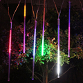 240LED Meteoro Tubo Chuveiro de Chuva LED Natal Luz Jardim da Festa de Casamento de Natal Seqüência de Luz Do Feriado Ao Ar Livre Iluminação 100-240 V