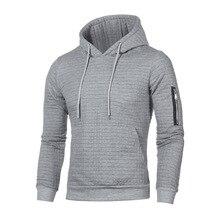 c1419033079 Male Hoodie Solid Plaid Hoodies Men Long Sleeve Casual Sweatshirt sudadera  con capucha para hombre Sportswear
