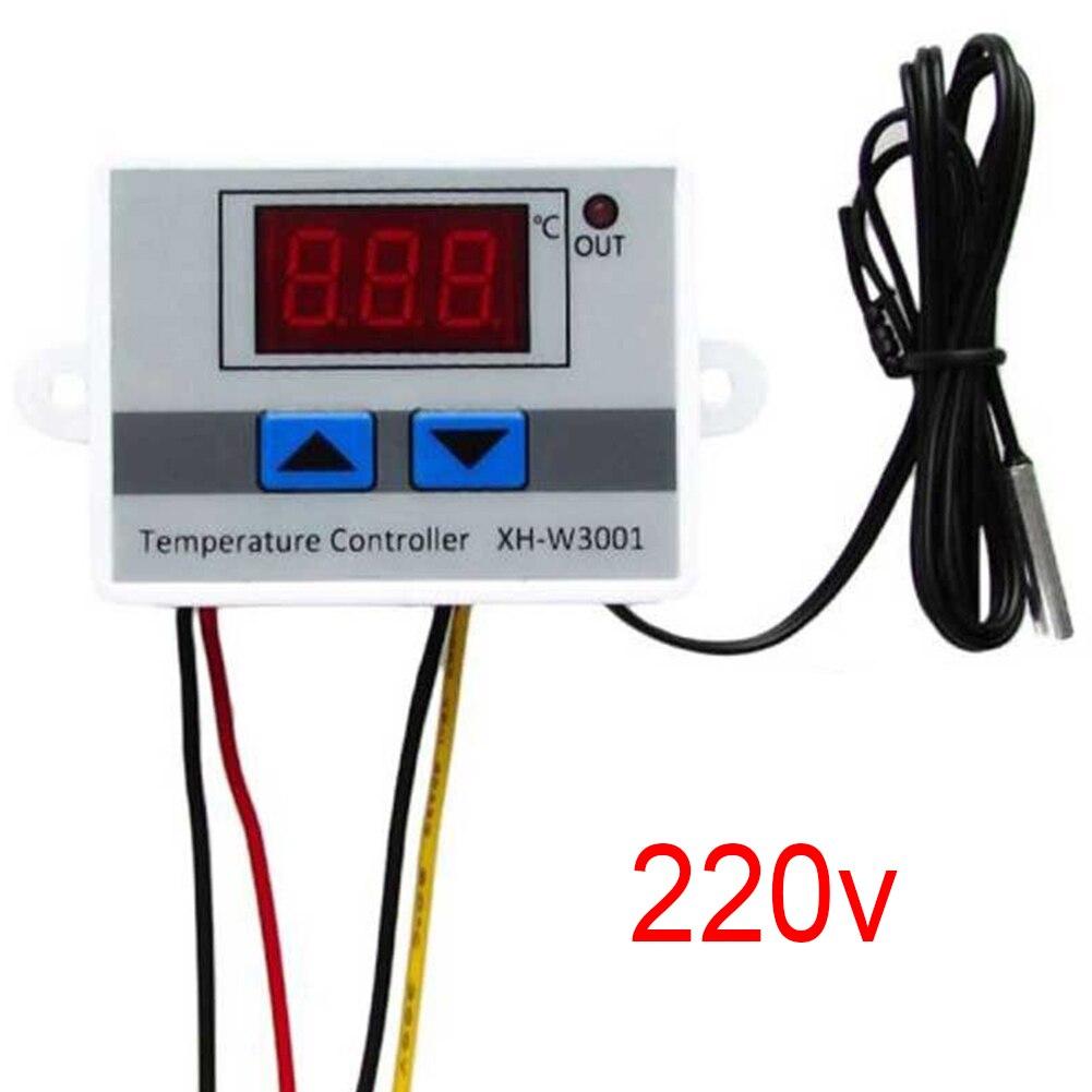 Digital Temperature Controller Thermostat 10A 12V//220V LED Sensor for Incubator