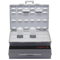 AideTek 2 Unit Of BOXALL48 Lids Empty Enclosure SMD SMT Organizer Surface Mount