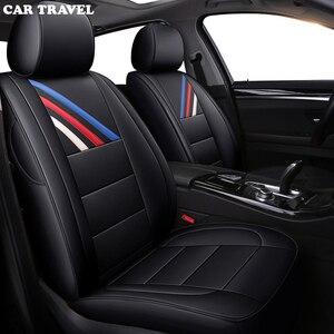 Image 4 - ของแท้หนังที่กำหนดเองรถยนต์สำหรับ BMW E46 E36 E39 E90 X1 X5 X6 E53 F11 E60 F30 x3 E83 รถยนต์ที่นั่งครอบคลุม