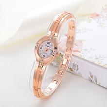 Luxury Women Bracelet Watches Fashion Women Dress Wristwatch Ladies Quartz Sport Rose Gold Watch Dropshiping LP025