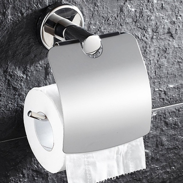 Stainless Steel Toilet paper Holder tissue holder toilet Multifunctional Anti-rust Tissue Paper Holder Bathroom Roll Paper