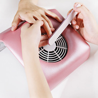 1 pc Nail Art Suction Nails Dust Collector Nail Polish Gel Cleaner Manicure Pedicure Tool Salon Vacuum With 2 Storage Bags
