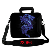 Blue Dragon laptop sleeve case Cover for Apple MacBook Air pro 10 12 13 14 15 17 inch notebook computer tablet PC Messenger Bag