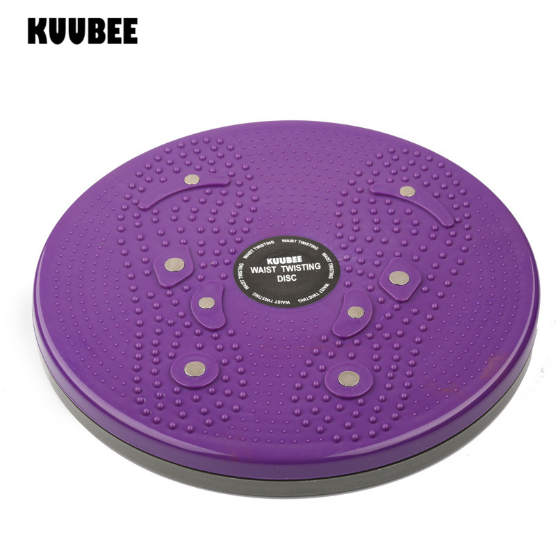 Twist Disk Magnetic Waist Wriggling Plate Slimming Legs Fitness Health Thin Waist Exerciser Twist Board