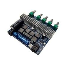 TPA3116D2 Subwoofer Amplifier Board 2.1 Channel High Power Bluetooth 4.2 Audio Amplifier Board DC12V-24V 2*50W+100W tpa3116 2 1 digital audio amplifier board tpa3116d2 subwoofer speaker amplifiers dc12v 24v 2 50w 100w