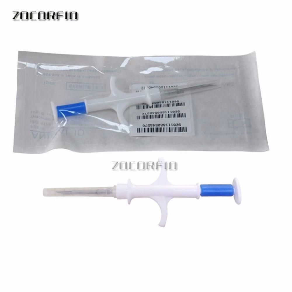 Rfid Animal Syringe Animal Microchip  Injector 134.2KHz Pet Syringes ISO Animal Chip EM4305 Syringe For Animals