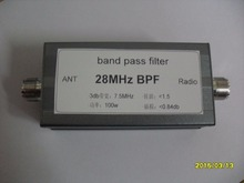 BPF-plus 28.000 Short wave 28MHz BPF high isolation bandpass filter adjacent frequency narrow band