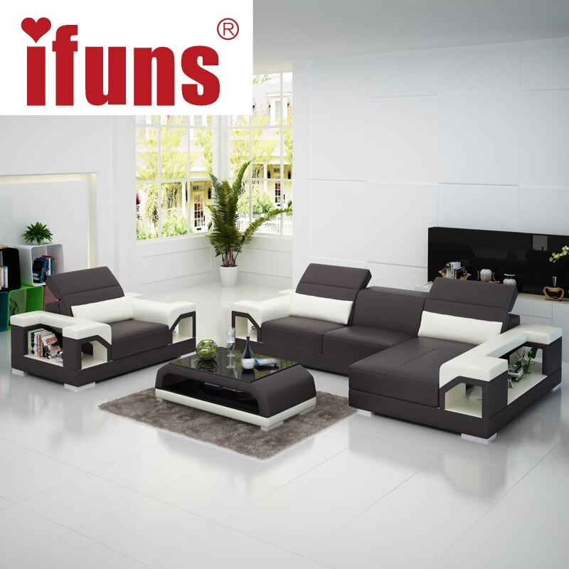 Sofa Set Style Modern Leather Sofa New Style Set: Leather Sofa Set Designs Promotion-Shop For Promotional