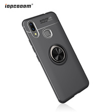 Phone Cases For Xiaomi Mi Max3 Case Car Stand Magnetic Bracket Finger Ring TPU Shockproof Cover Coque6.9inch