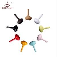 Wholesale 10 Pcs Lot Air Humidifier NEW Aroma Atomizer LED Ultrasonic Purifier Diffuser Vase Shape GX