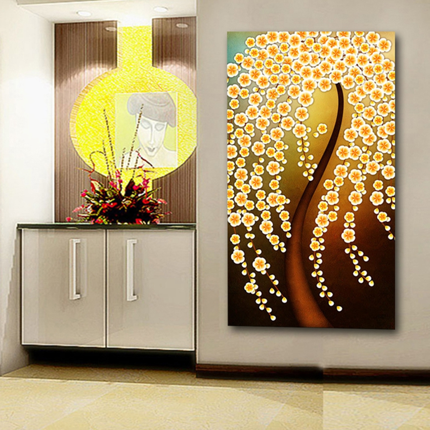 Home decoration 1 piece no frame art picture canvas prints for House decoration pieces
