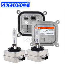 SKYJOYCE 車のヘッドライトキットキセノン D1S D3S HID 電球キット OEM バラスト 8A5Z13C170A 35 ワット D1S 6000 18K 4300 18K 8000 18K D3S オートヘッドランプ電球