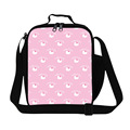 Fashion 3D Cute Lovely Hello Kitty Printing Lunch Bags For School Children Cat Mini Lunch Box For Working Picnic Food Bag Retail