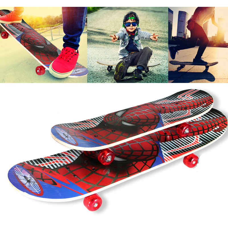 New Professional 60*15CM Kids Cartoon Skateboard Complete Deck Wood Deck Skate Board Outdoor Extreme Sports Long Board