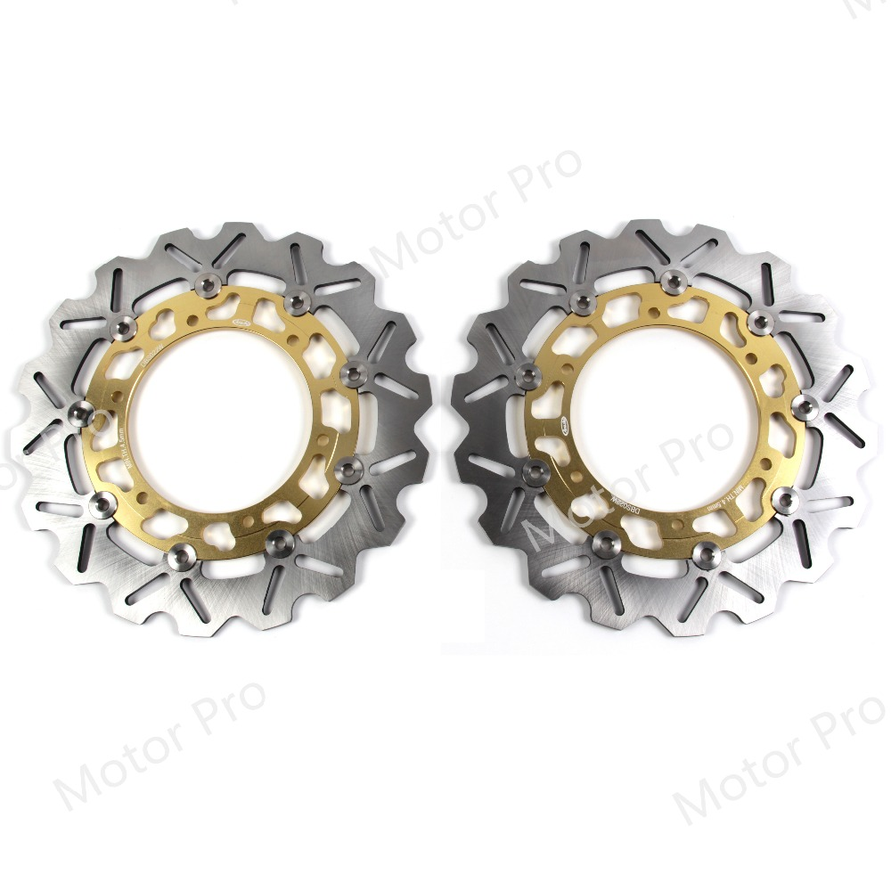 For Yamaha XV1700PC 2002 - 2007 Front Brake Disc Rotor Disk Motorcycle Road Star Warrior 2003 2004 2005 2006 YZF R6 R1 XJ600N for yamaha yzf r1 2004 2014 yzf r6 2006 2007 motorcycle frame mobile phone navigation mount bracket accessories