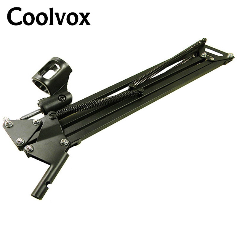 Broadcasting Studio Microphone Mic Boom Scissor Suspension Arm Mount Stand Shock - support 360-degree adjustable nokotion aclu9 aclu0 nm a311 laptop motherboard for lenovo ideapad g50 30 sr1w4 n2830 cpu main board works