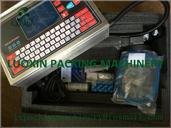 LX-PACK Laagste fabrieksprijsmarkering codering anti-vervalsing industriële inkjetprinter past printsysteem barcode-apparatuur toe