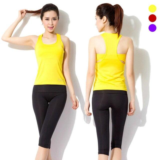 Women S Sports Fitness Clothing: Summer 2014 Vest Leggings Pants Dance Running Gym Workout