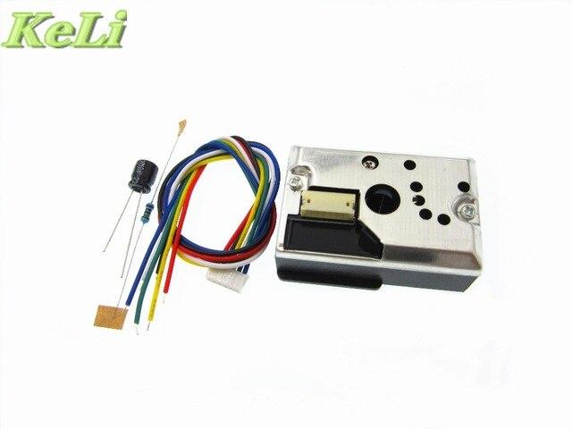 100% new original 1PCS/LOT GP2Y1010AU0F GP2Y1010AUOF replace by ( GP2Y1014AU0F )AIR QUALITY DUST Sensor With Cable