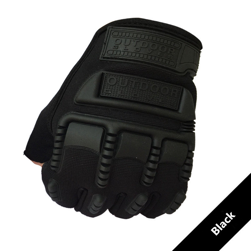 Tactical Gloves Men Military Half Finger Hard Knuckle Gloves For Shooting Fighting Airsoft Motorcycle Luvas Rekawiczki Taktyczne
