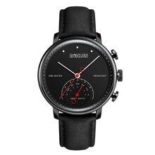 Bozlun Bluetooth Jam Tangan Kuarsa Bisnis Smartwatch Pria Kulit Smart Watch  Clock Tahan Air Jam Tangan Jam Tangan Pesan Panggila. 51f38eb577